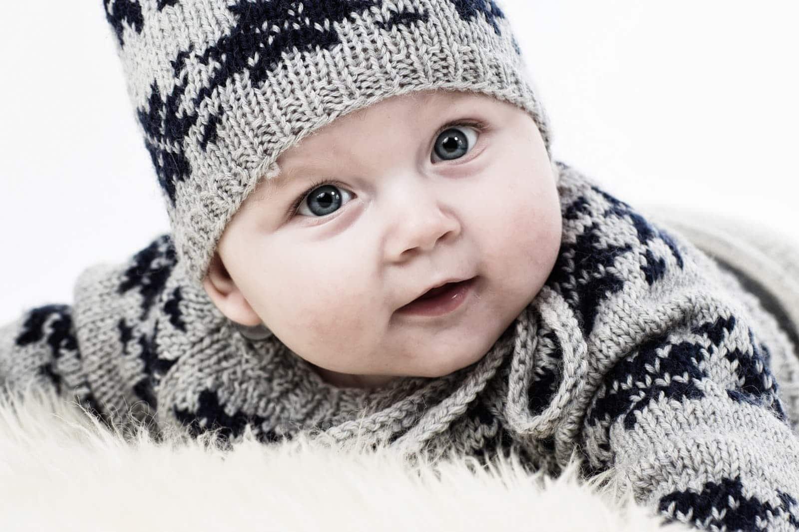 Baby med hue