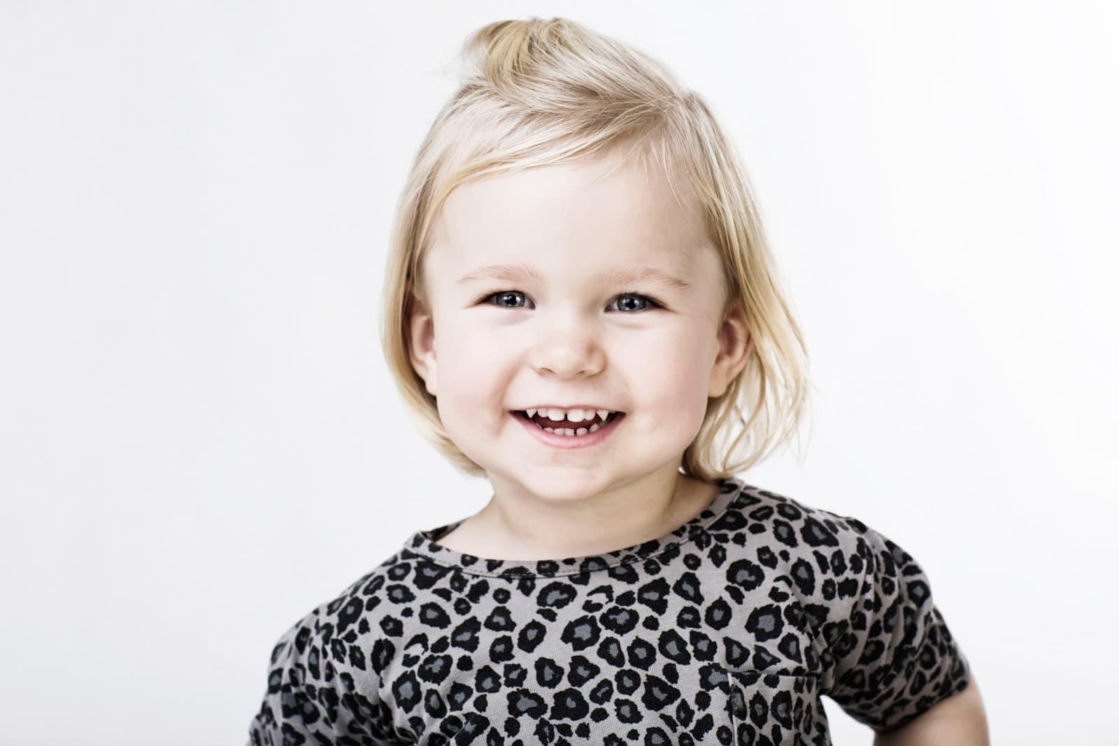 Pige 2,5 år – bleach farver