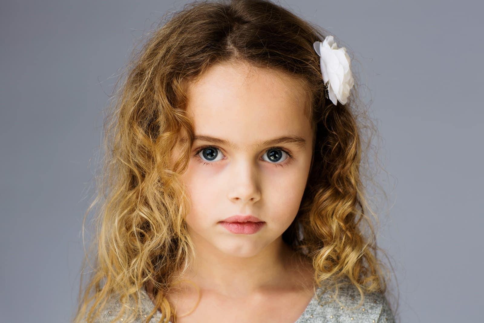 Smuk pige på 5 år