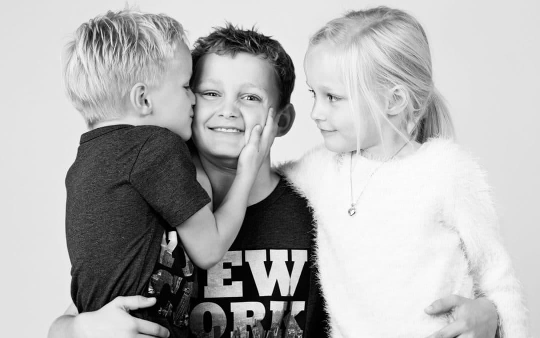 Søskende, billede af store børn – 2