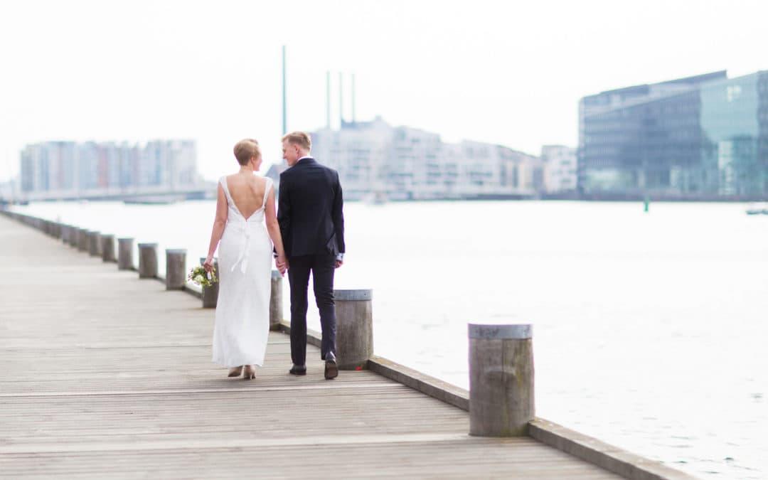Bryllupsfotograf på Islandsbrygge