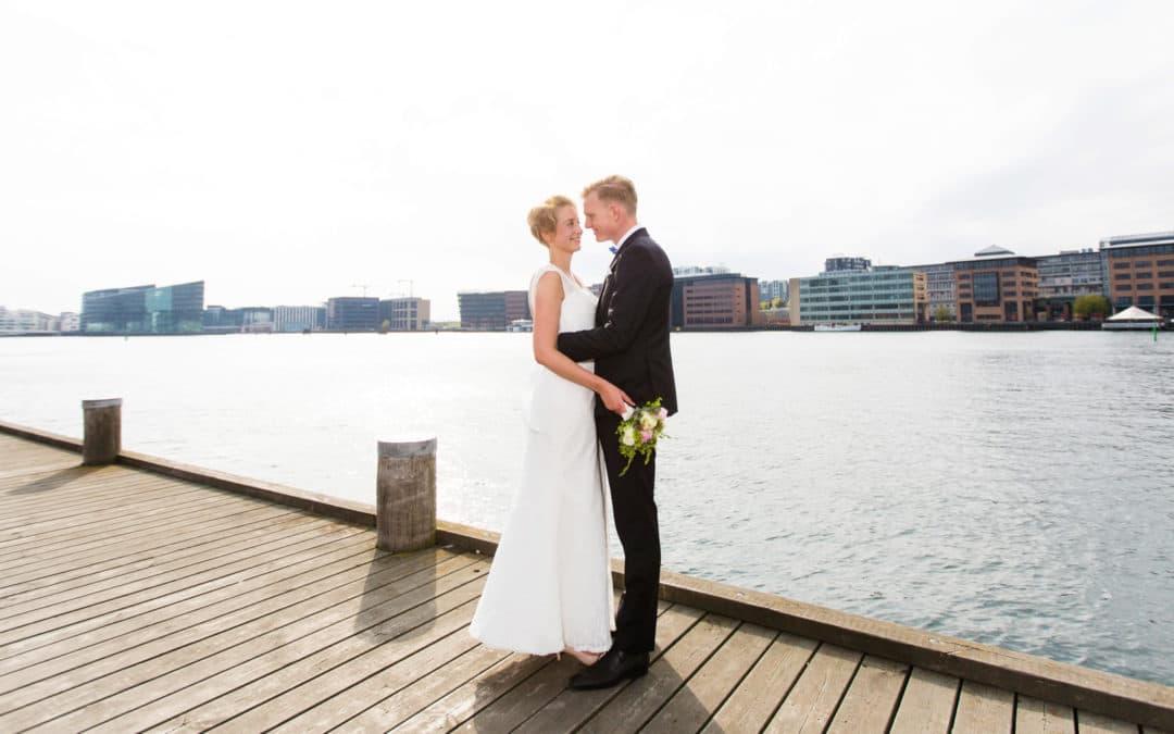 Brudeparret – bryllup på Islandsbrygge