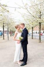 Brudeparret på Islandsbrygge