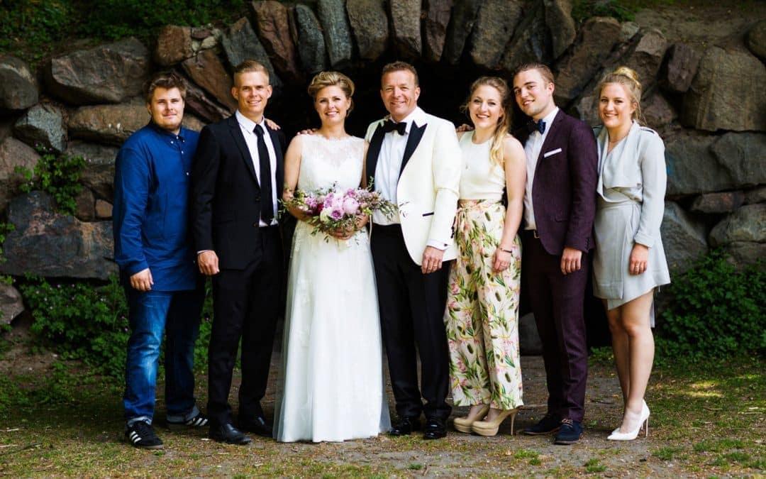 Fotograf til Bryllup i Hellerup – Familiebillede
