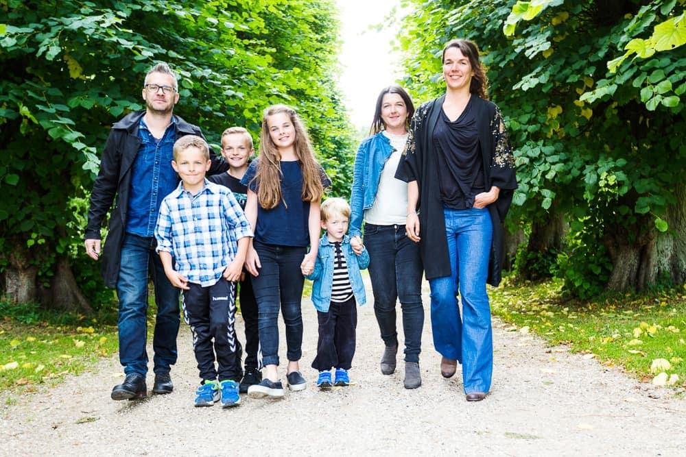 Familiebillede i bevægelse - Furesøen