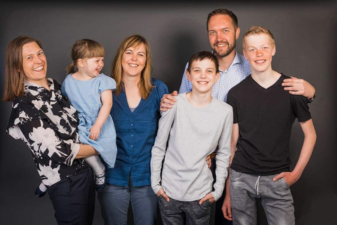 Familie gruppebillede