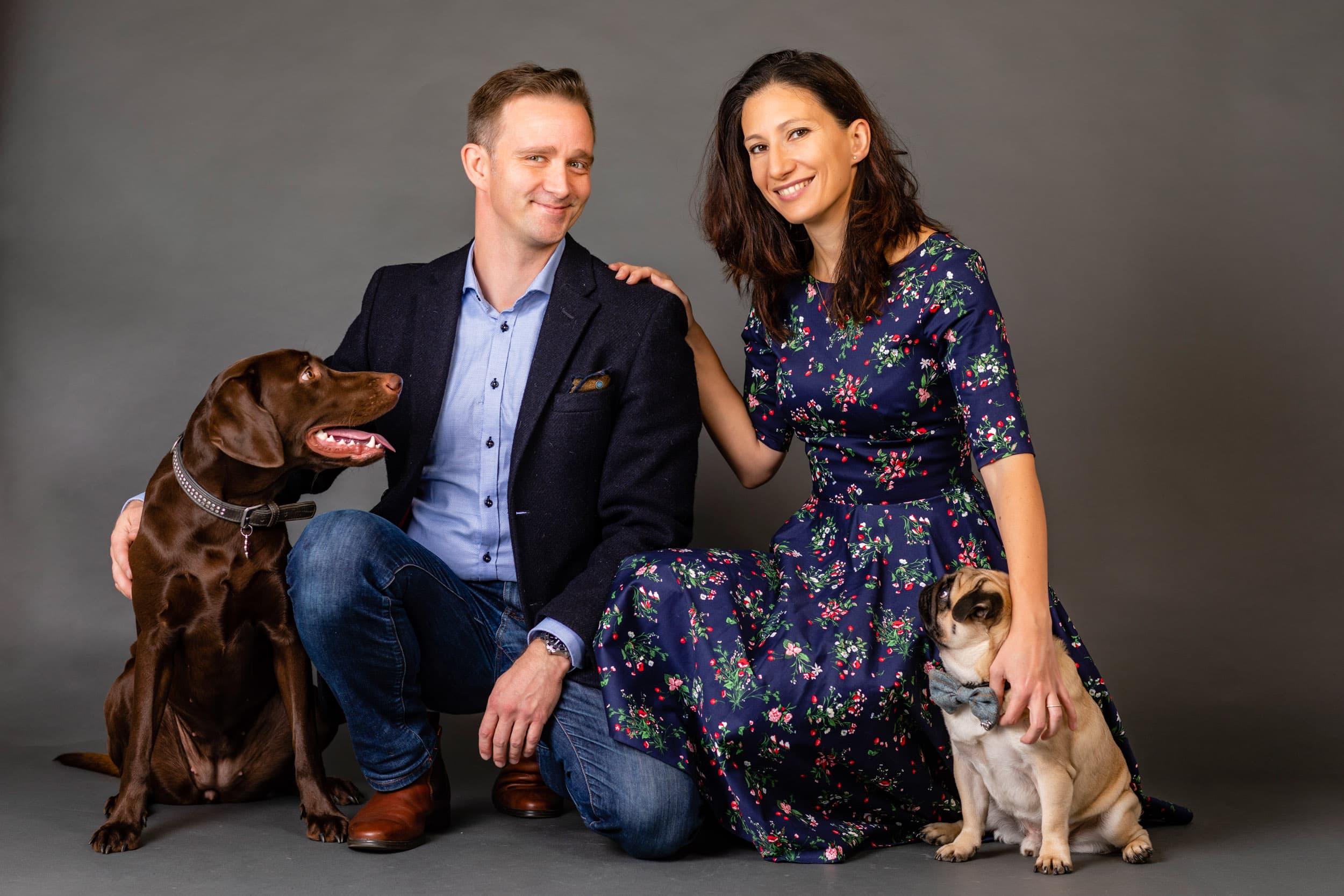 Hunde med til fotograf - Kærester