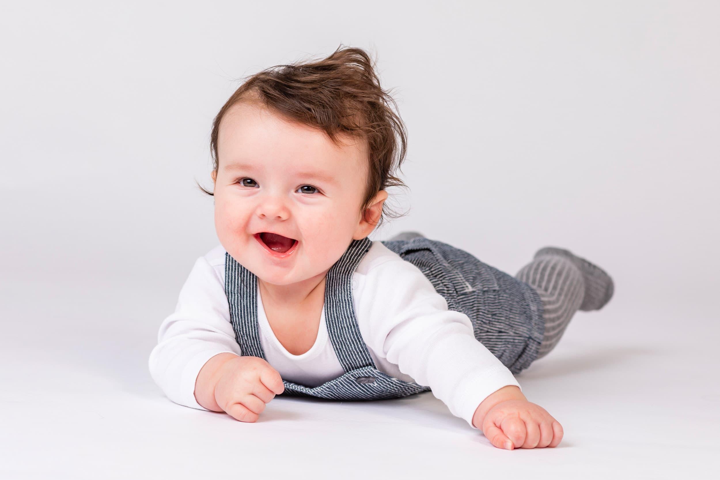 Baby 3 måneder hos fotograf