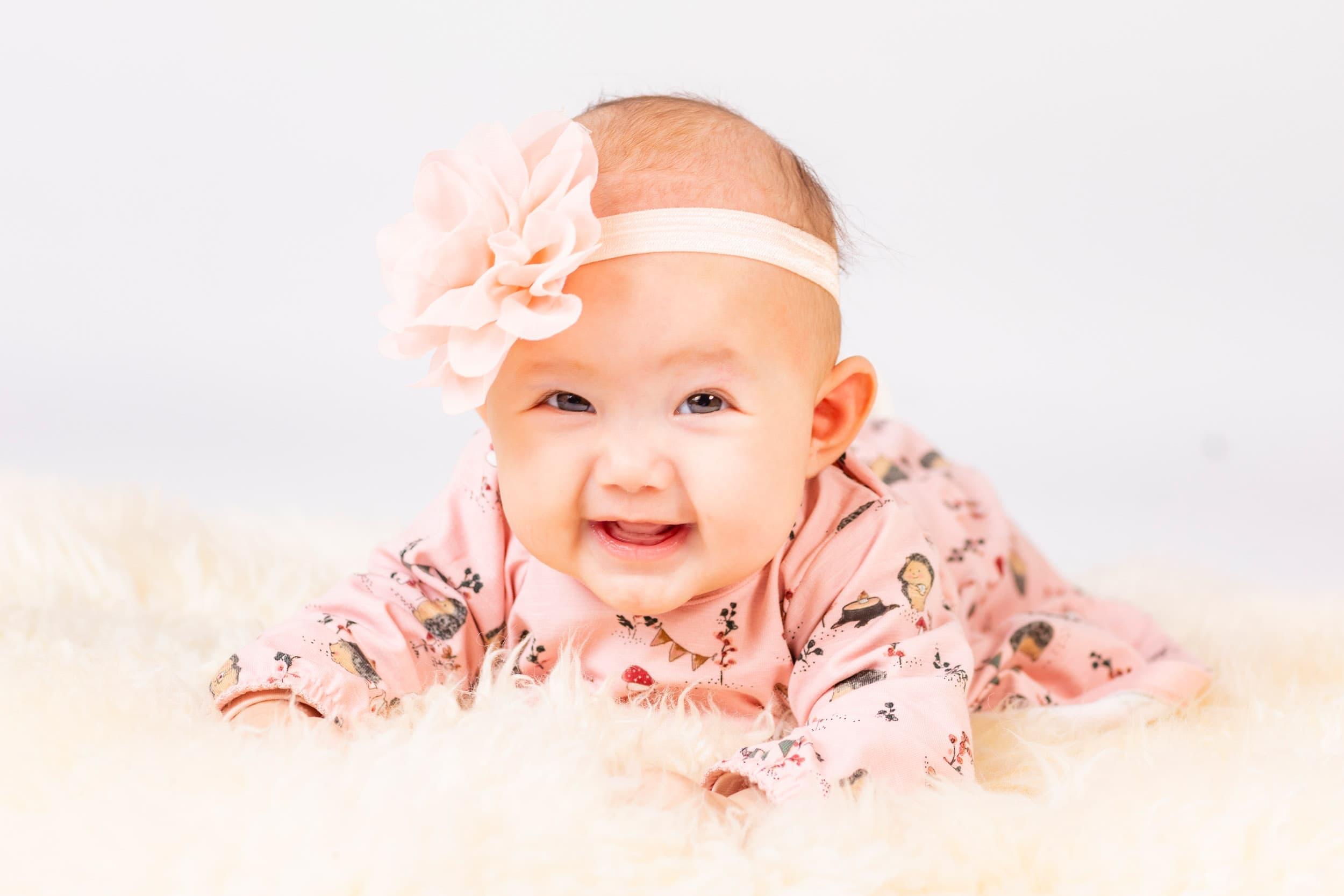 Baby billeder fotograf