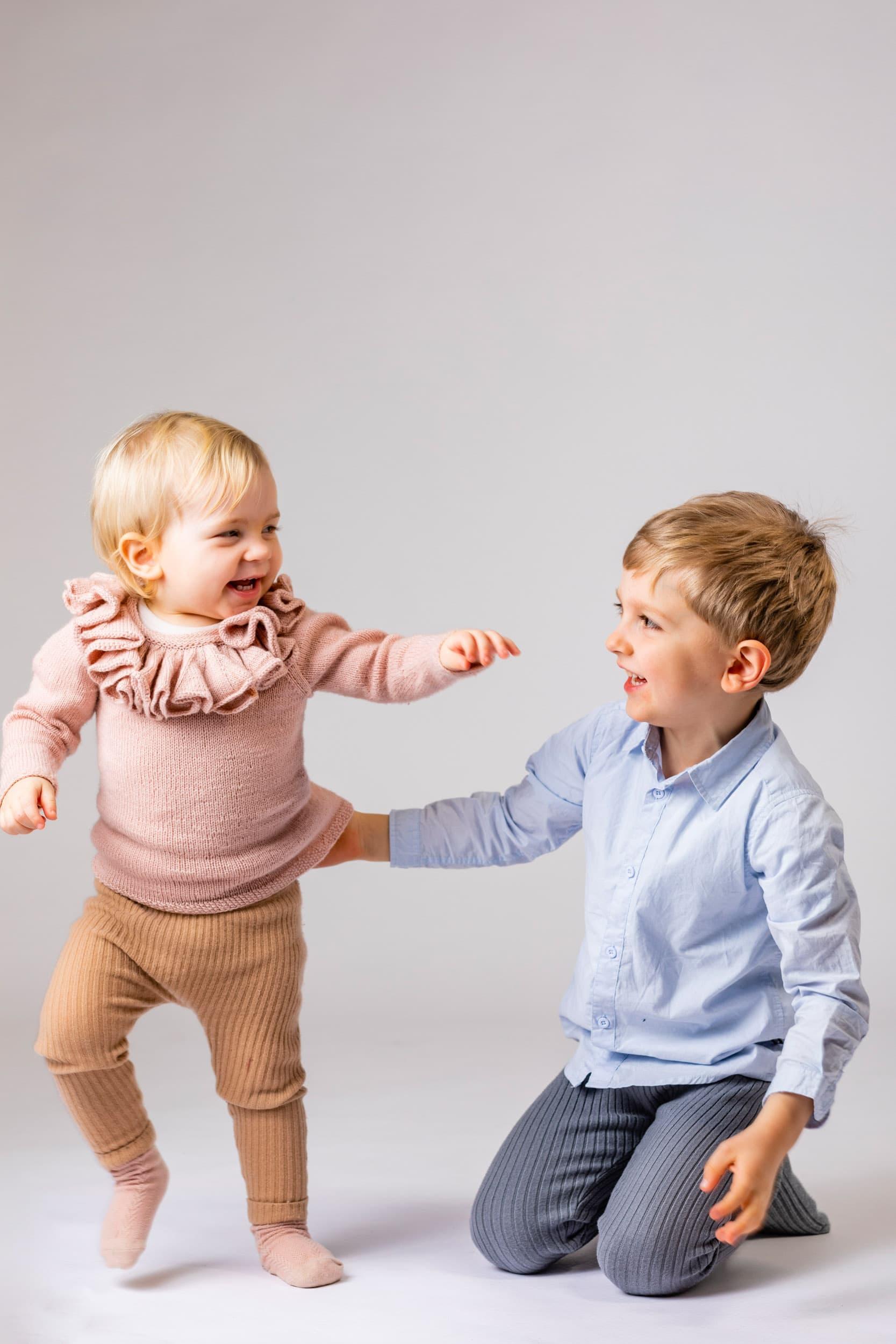 Søskende børn, fotograf, del 5