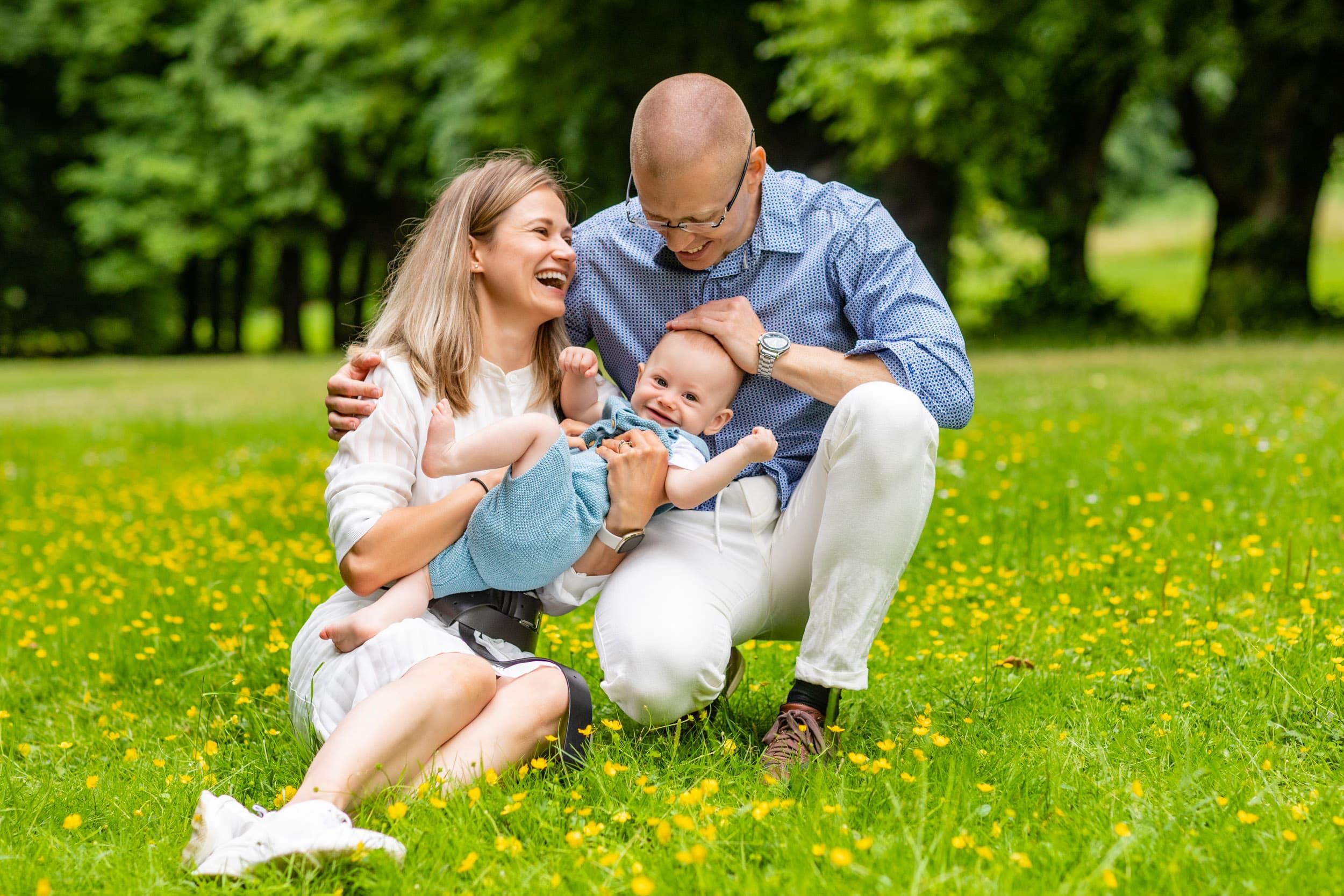 Familie fotograf ved Sophienholm - del 1