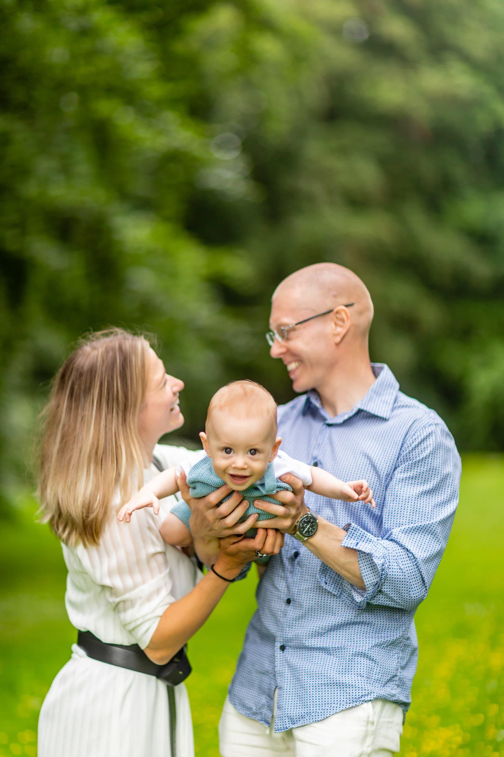 Familie fotograf ved Sophienholm - del 2